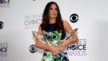 Американсая актриса Сандра Буллок на вручении премии People's Choice