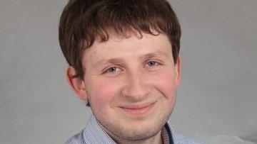 Аспирант Томского политехнического университета (ТПУ) Дмитрий Прокопьев