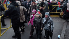 Очередь к Дарам волхвов в Петербурге. Фото с места события