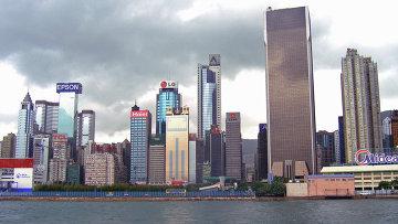 Вид на центральную часть острова Гонконг. Архивное фото