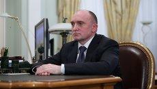 Исполняющий обязанности губернатора Челябинской области Борис Дубровский, архивное фото