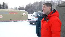 Замглавы МЧС проверил мобильные городки спасателей в Томске