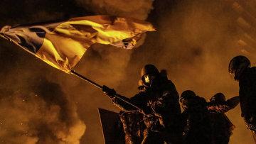 Беспорядки в Киеве. Фото с места события