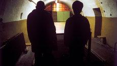 Осужденные в тюрьме, архивное фото