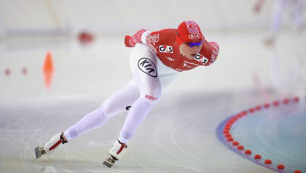 Конькобежный спорт. Ольга Фаткулина. Архивное фото.