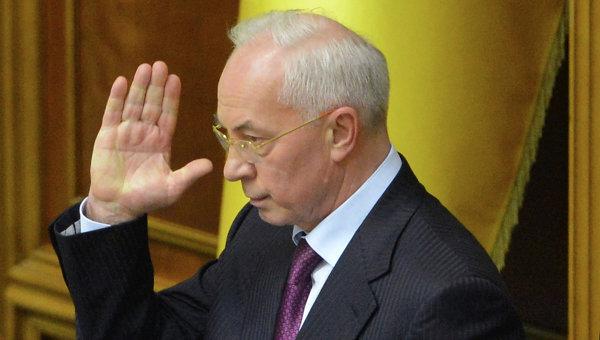 Экс-премьер Украины Николай Азаров, архивное фото