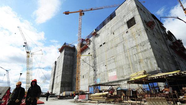 Строительство нового энергоблока Белоярской АЭС. Архивное фото