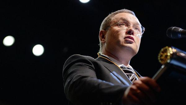 Председатель партии Альянс зеленых - Народная партия Глеб Фетисов