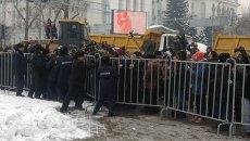 Митинг в Алма-Аты, архивное фото