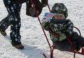"""Навострили лыжи: в Томске состоялись гонки """"Лыжня России-2014"""""""