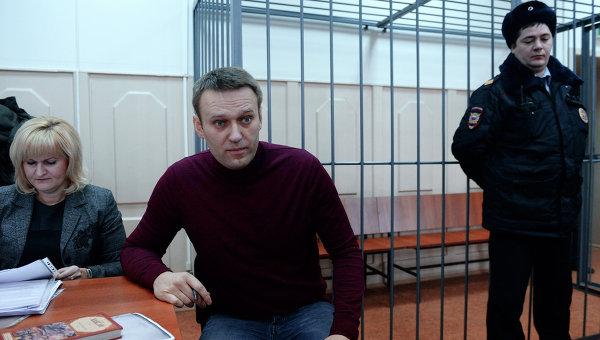 Рассмотрение ходатайства следствия о домашнем аресте Алексея Навального, архивное фото