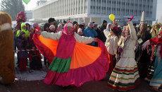 Губернская масленица в Томске, событийное фото