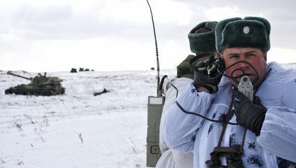 Артиллерийские учения на полигоне Чебаркуль. Архивное фото