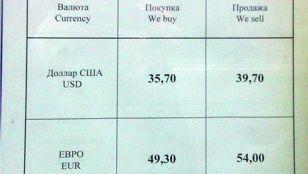 Курс валют на 3 марта 2014 года в Газпромбанке Томска, событийное фото