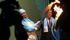 Эстафета паралимпийского огня в Самаре