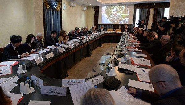 Слушания в Общественной палате РФ, архивное фото