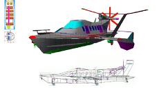 Пассажирский гибрид самолета и морского судна