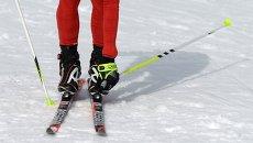 Лыжные гонки. Архивное фото.