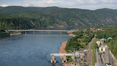 Красноярская ГЭС. Архивное фото