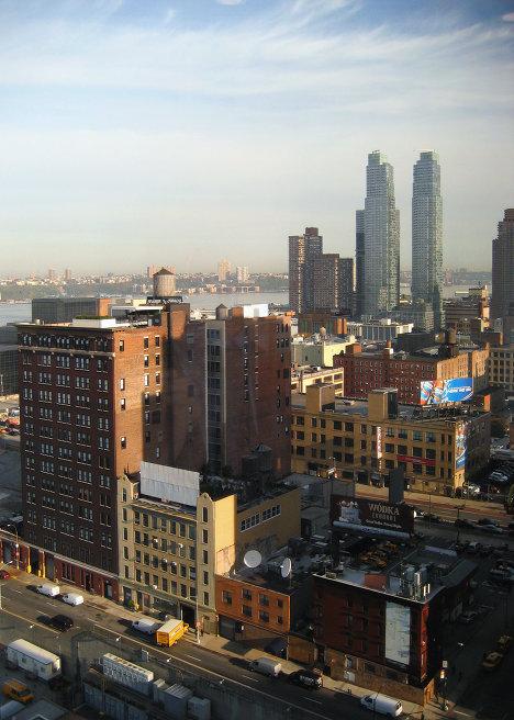 Нью-Йорк, небоскребы