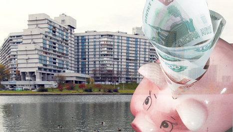 новостройка, стройка, рубли, деньги, многоэтажка, строительство, жилье, река