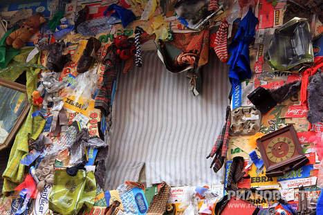 12 тонн мусора, которые превратились в гостиницу