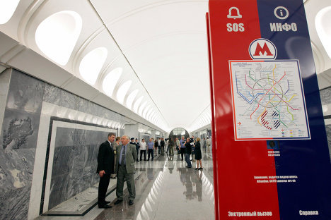 Убийство процентщицы и другие фрески новых станций метро Москвы