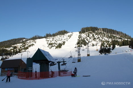 Кипарисовая гора - место олимпийских стартов по сноуборду и фристайлу