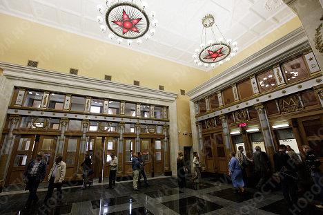 Наземный вестибюль станции Курская-кольцевая после ремонта