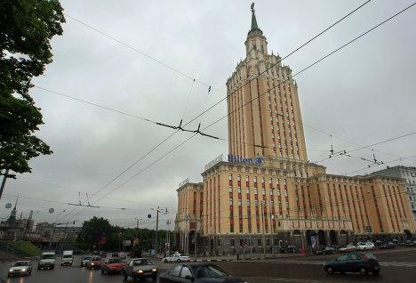 Гостиница Ленинградская открыта после реконструкции