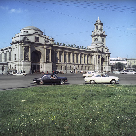 Вид на Киевский вокзал