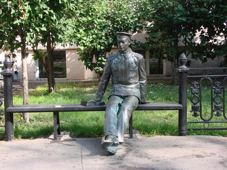 Памятник студенту, Москва