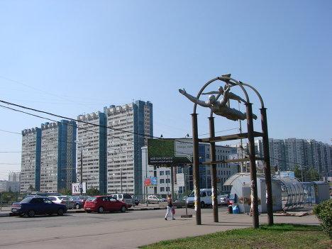 Парящие в Ясенево, Москва