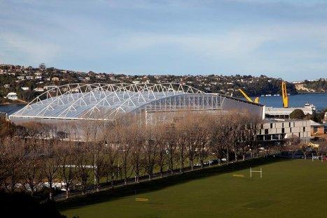 Стадион в Новой Зеландии