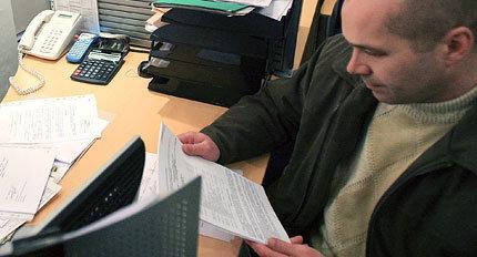 Офис, ипотека, договор, документы, бумаги