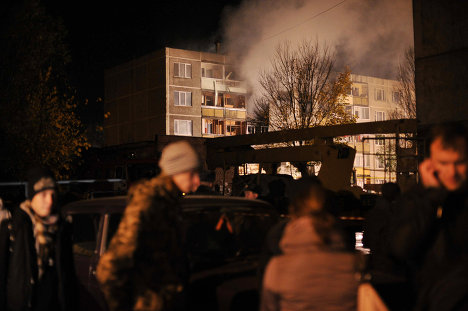 Взрыв бытового газа в жилом доме в подмосковных Бронницах