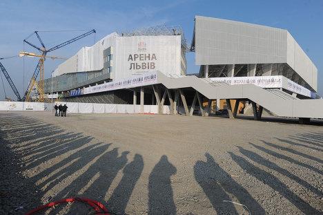 Открытие стадиона Львов-Арена