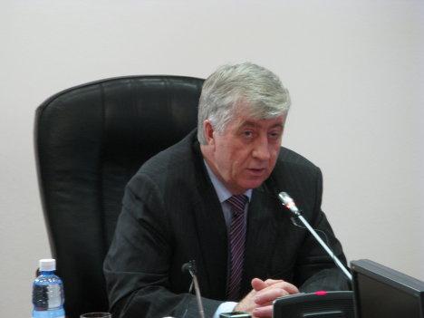 Мэр Омска Виктор Шрейдер