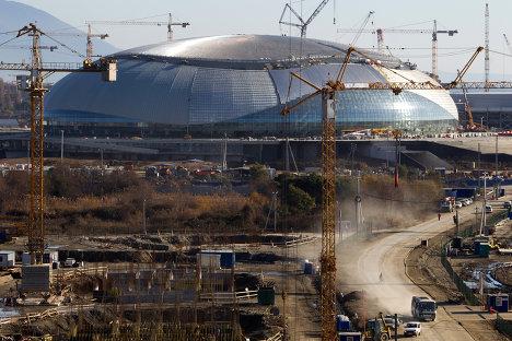 Строительство олимпийских объектов в Имеретинской долине