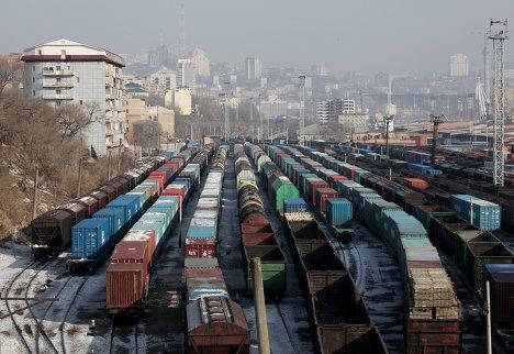Железнодорожное депо