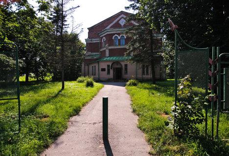 Здание Павловской опытной станции