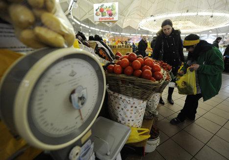 Работа Даниловского рынка в Москве