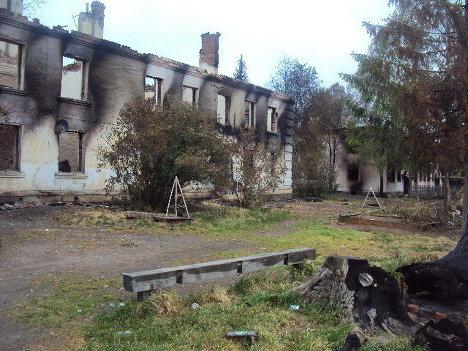 Последствия взрывов в воинской части в Башкирии