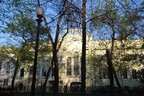 Особняк Шехтеля в стиле модерн на Тверском бульваре