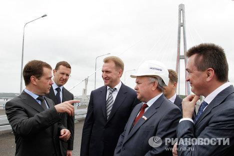 Рабочая поездка Д.Медведева во Владивосток