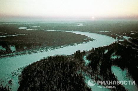 Пейзаж Ямало-Ненецкого национального округа