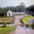 В парке Петродворца