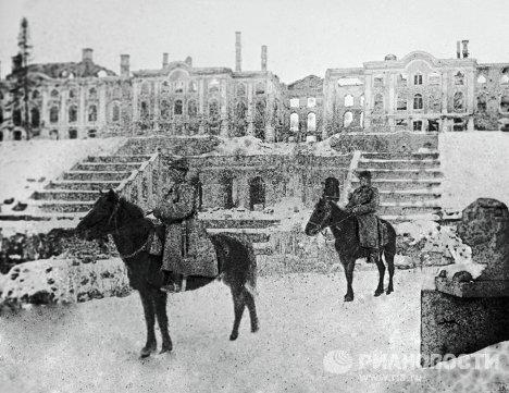 Петергоф после освобождения