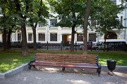 Дома, улочки и бульвары, где снимали известные фильмы - лавочка на Гоголевском бульваре