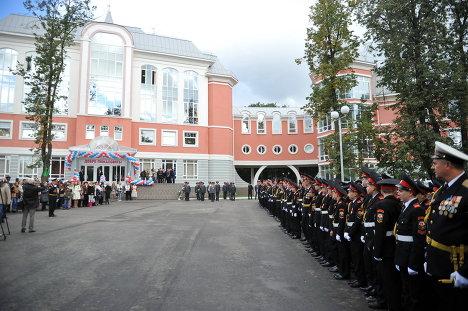 Открытие Первого московского кадетского корпуса в Москве